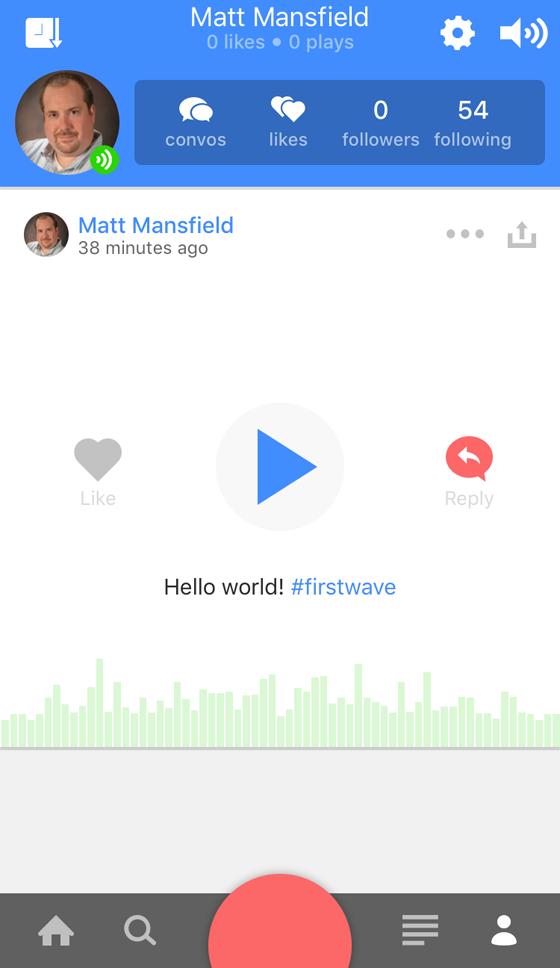 anchor audio app profile