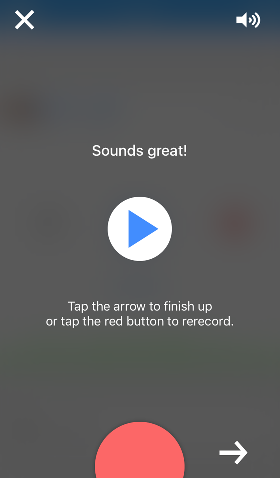 anchor audio app re-record