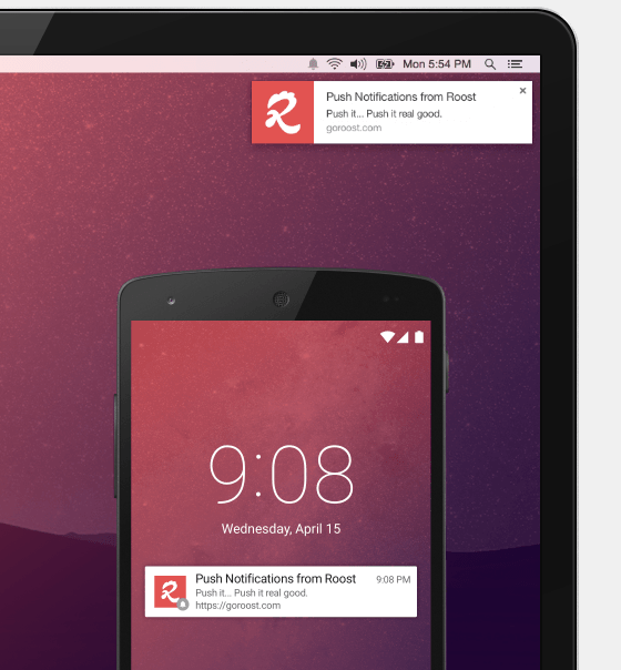 Roost Push Notifications