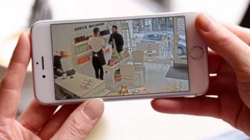 Axis companion mobile surveillance