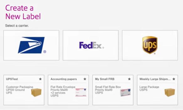 SendPro shipping software