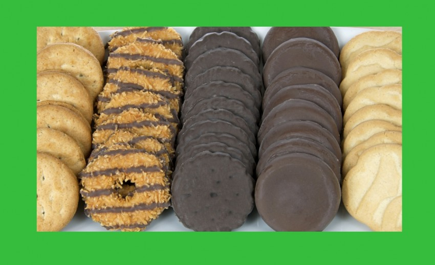 girl scout cookies sold with Sage Mobile App