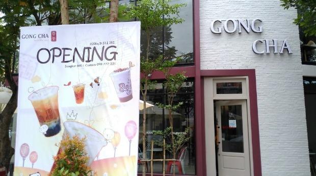 gong cha Tea Franchises