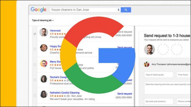 Google Home Service Ads