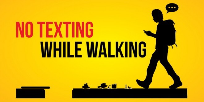 "Dangers Of Texting And Driving >> New Jersey Proposes ""No Texting While Walking"" Law - Small Business Trends"