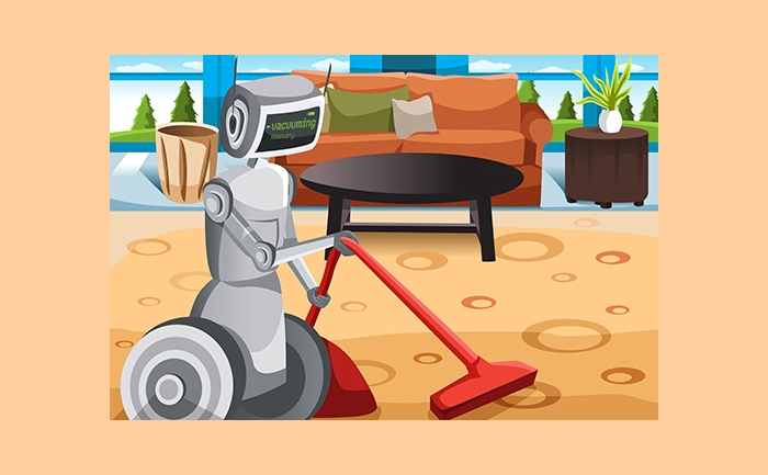 robot house cleaning ECOVACS Deebot D63S