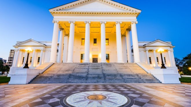 Governor of Virginia vetoed House Bill 18 virginia franchise law