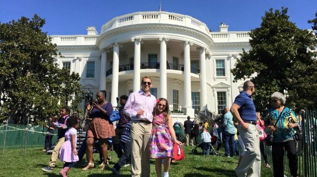 Kidpreneur Creates Sweet Treats visits white house