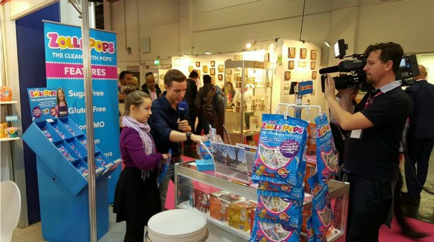 Kidpreneur Creates Sweet Treats, Sells at Trade show