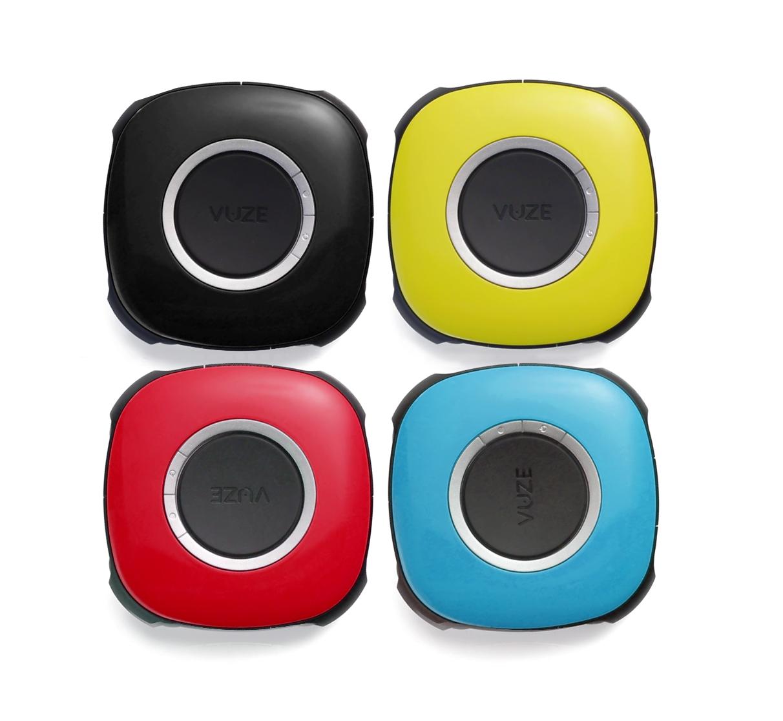 3D virtual reality camera Vuze color options