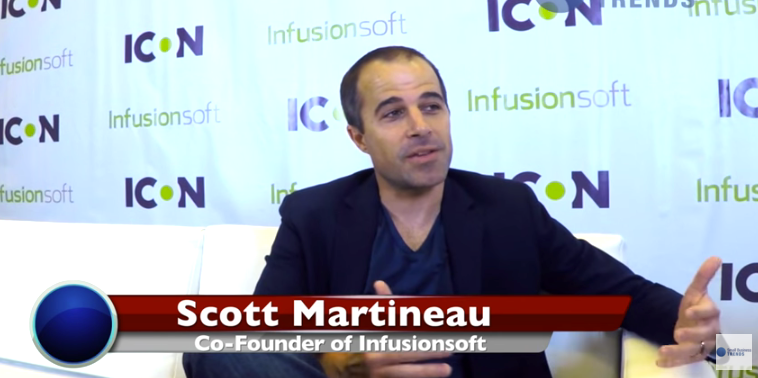 Infusionsoft CEO Scott Martineau On Entrepreneurial Success