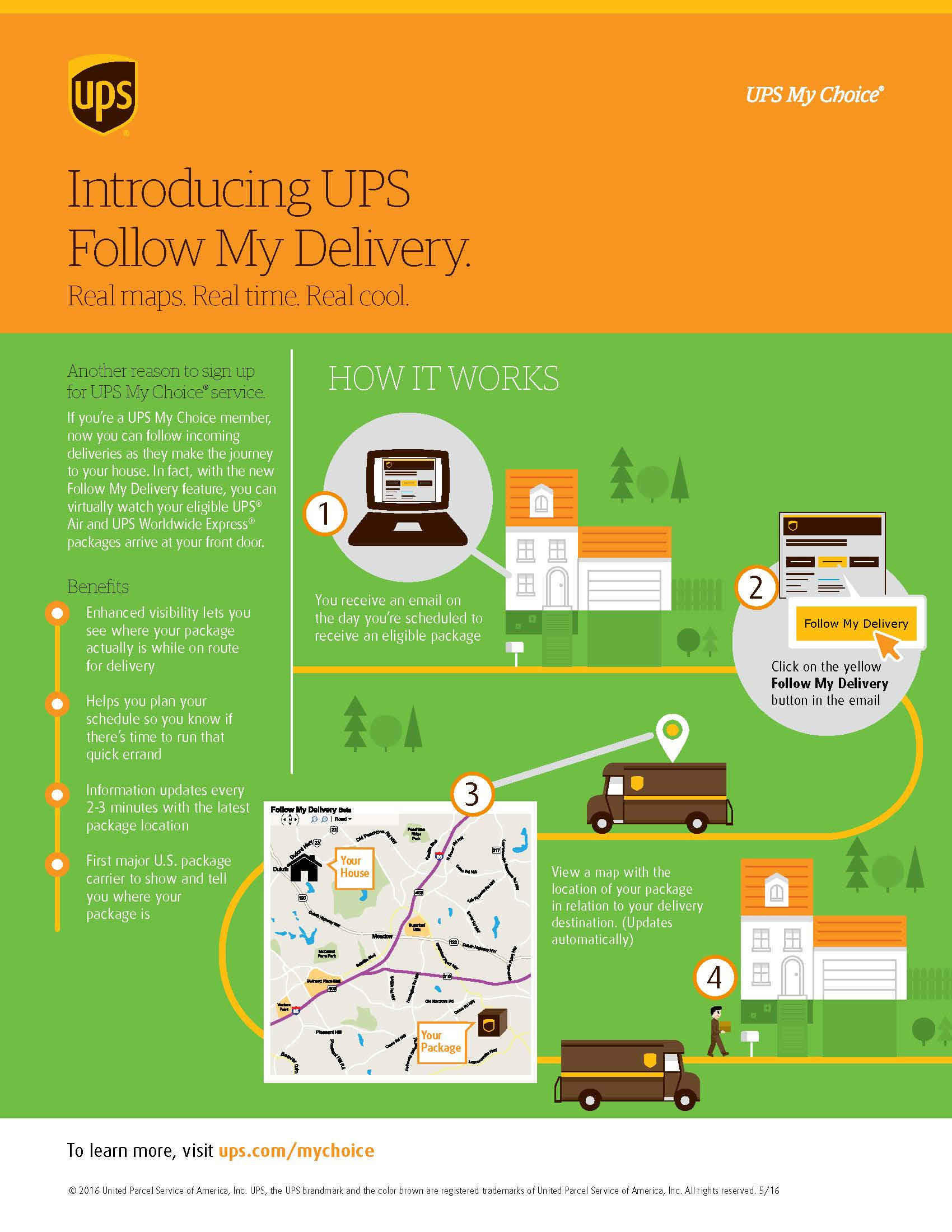 Check On UPS Delivery Progress with New Follow My Delivery