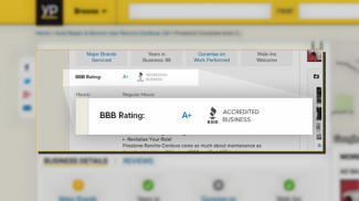 BBB Ratings on YP Business Listings