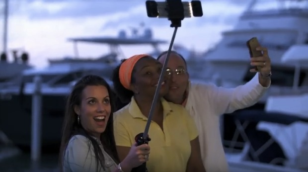 automated selfie stick