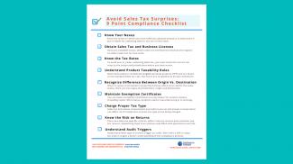 sales tax compliance