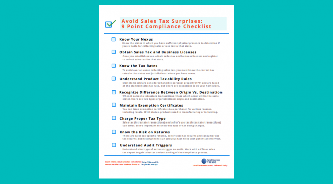 sales tax compliance