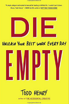 die empty book