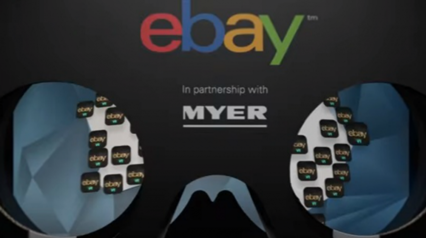 eBay Virtual Reality Department Store