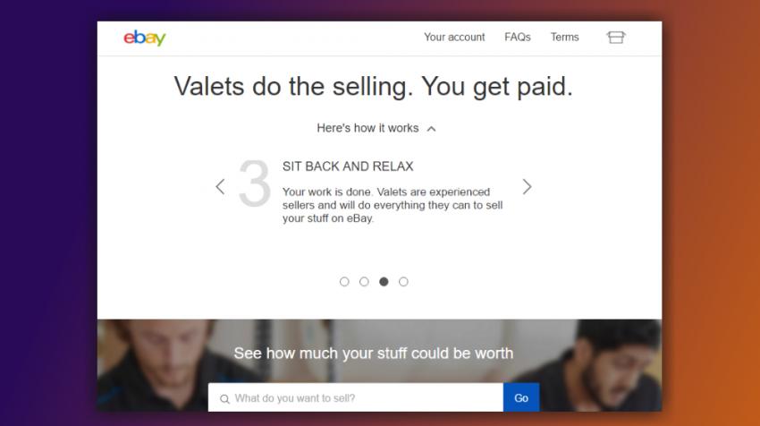 eBay Valet Program