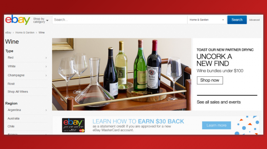 ebay wine service
