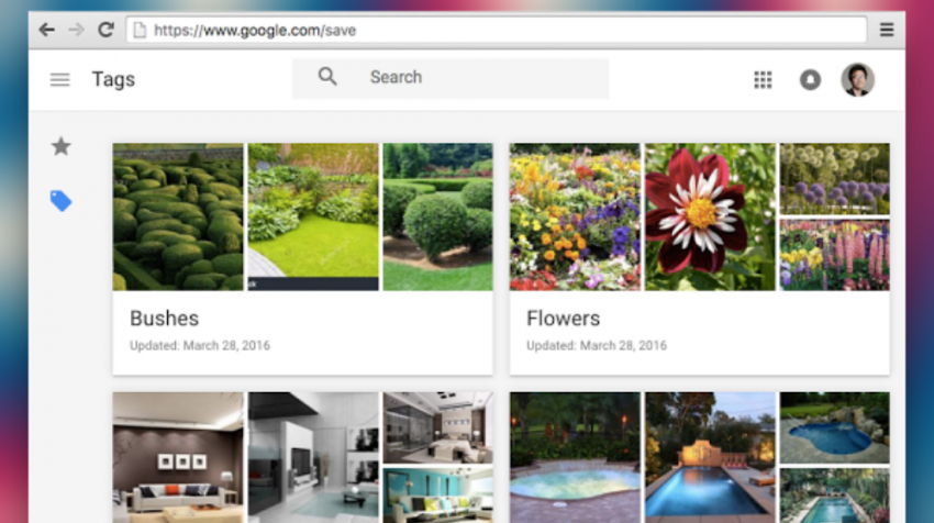 google saved images