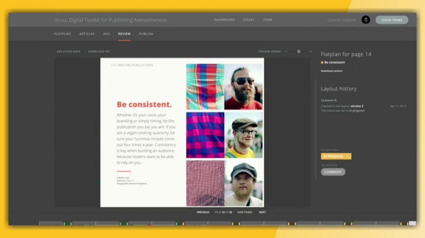 The Collaborate Editorial Tool Unifies Digital Magazine