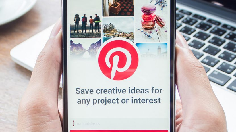 pinning on pinterest