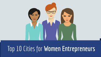 Top Cities for Women Entrepreneurs