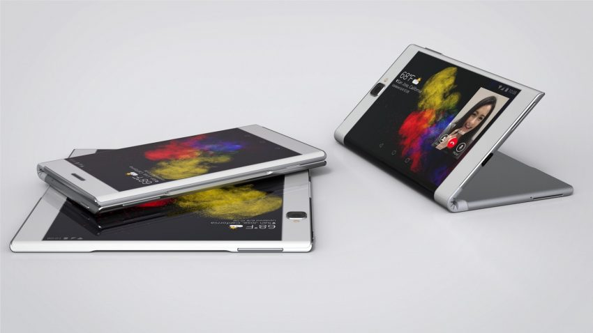Lenovo's Bendable Phone and Tablet