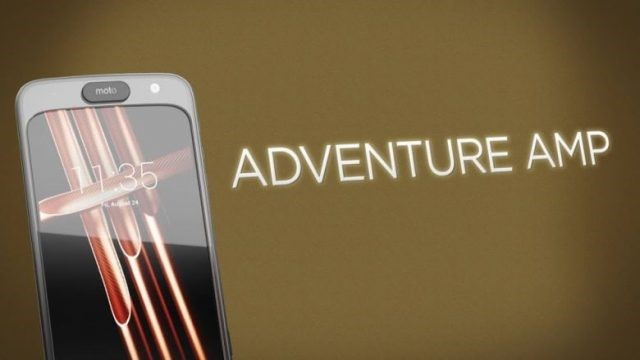 Moto Z Modular Cell Phone - Adventure AMP Mod