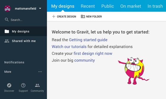 Free Alternative to Adobe Illustrator - Gravit Dashboard
