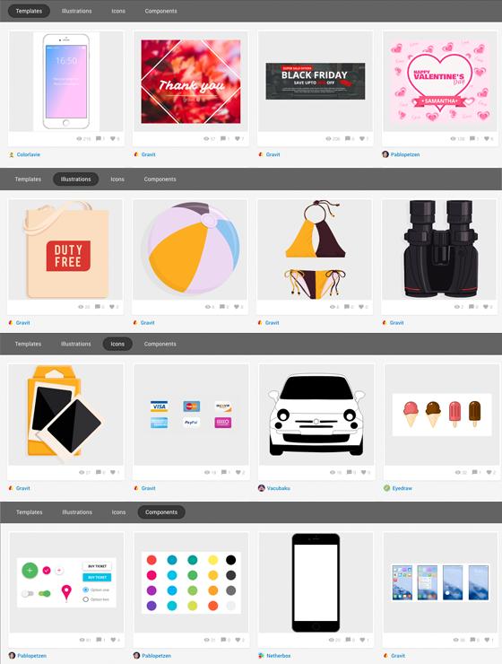 Free Alternative to Adobe Illustrator - Gravit Market