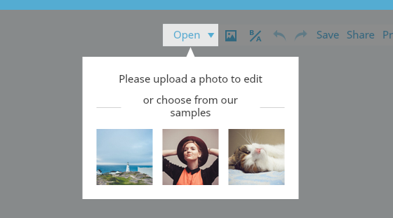 Free Image Creation Software, FotoJet - Photo Editor Start