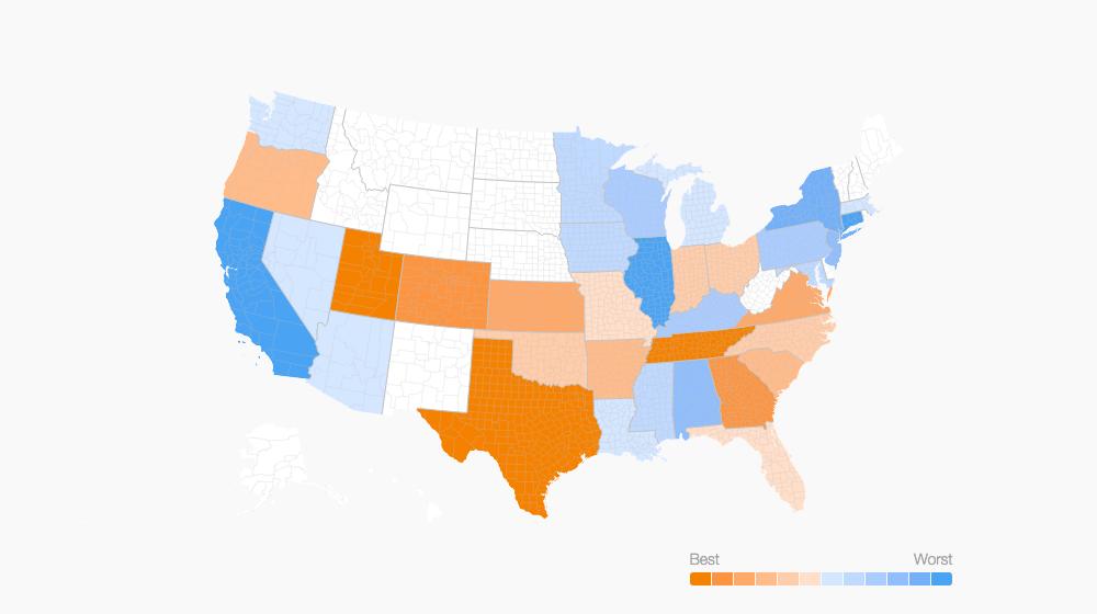 Texas, Utah Rank High as Small Business Friendly States ...
