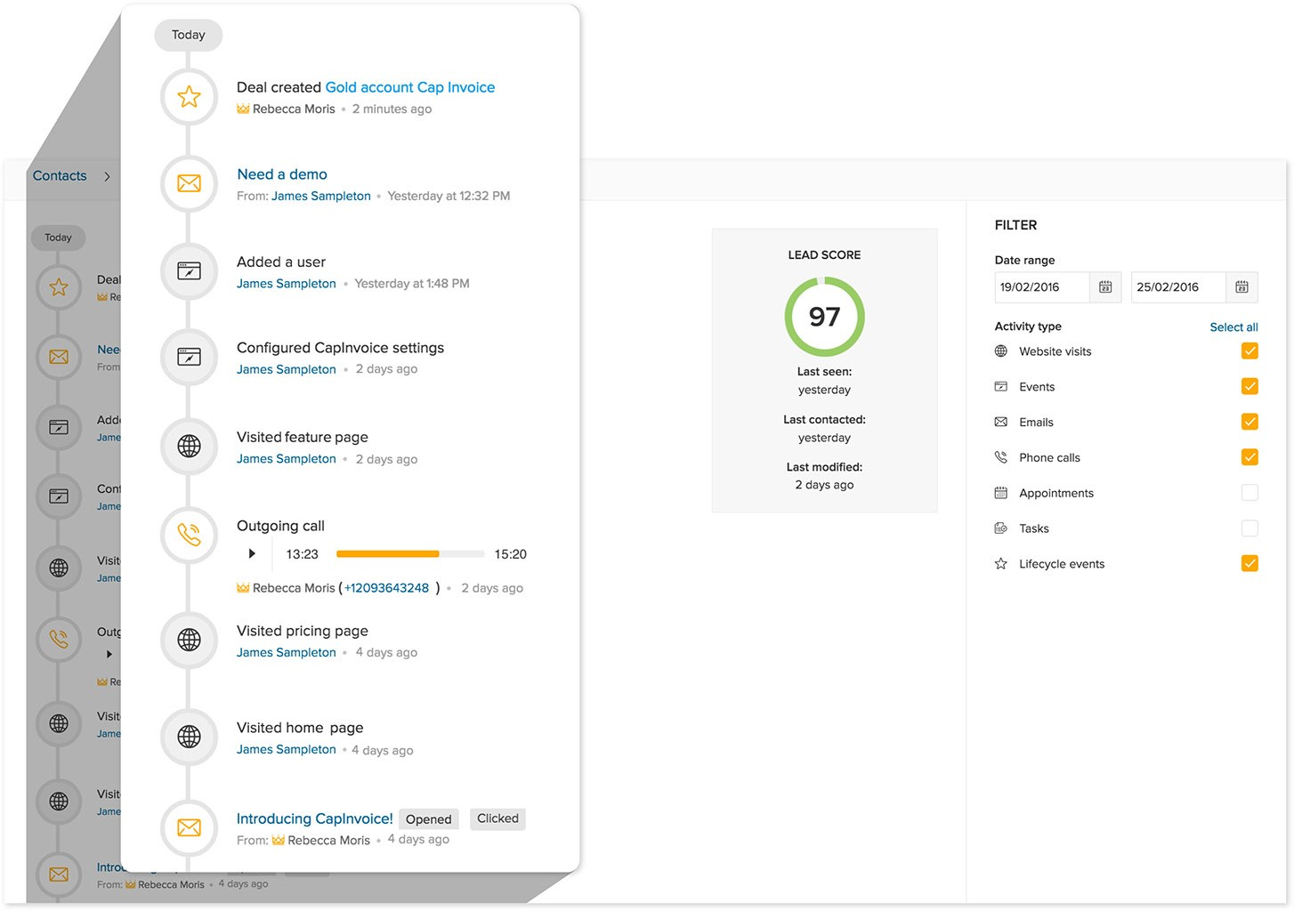 Freshdesk Introduces Freshsales, CRM with Something Extra - Tracking