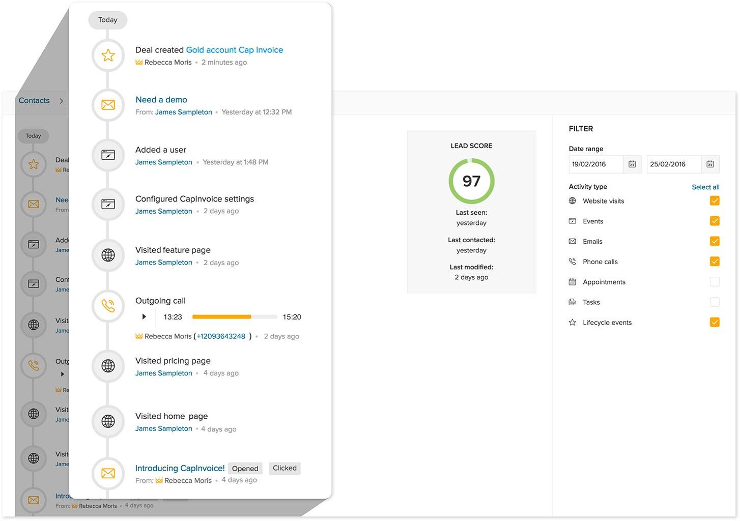 Freshdesk Introduces Freshsales, CRM with Something Extra - Tracking