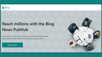 Bing News Submission via PubHub