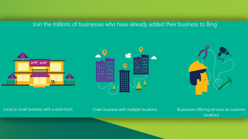 Bing business listing - Places