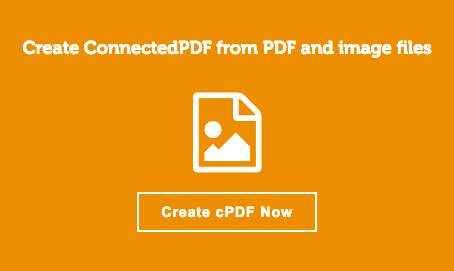 PDF Workflow Solution - Foxit ConnectedPDF: Create cPDF button