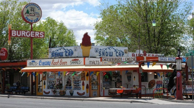 Most Unique Roadside Attraction Businesses in the U.S. - Delgadillos Snow Cap