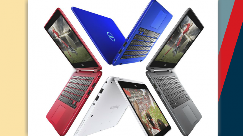 Colorful Laptops from Dell
