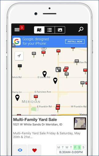 Where to Advertise Garage Sales: Yard Sales Sites, Garage and Yard Sale Sites - Garage Sales by Map