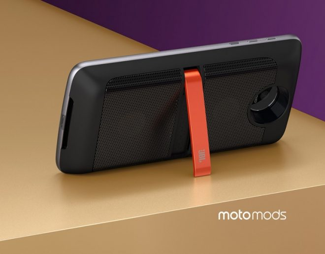 Moto Z Modular Cell Phone - JBL SoundBoost