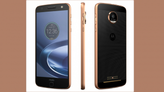 Moto Z Modular Cell Phone Becomes Projector, Miniature Sound System and More