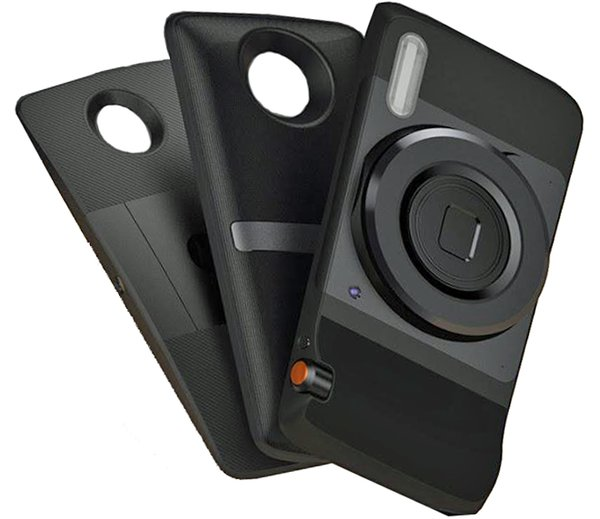 Moto Z Modular Cell Phone - Pro Camera Mod