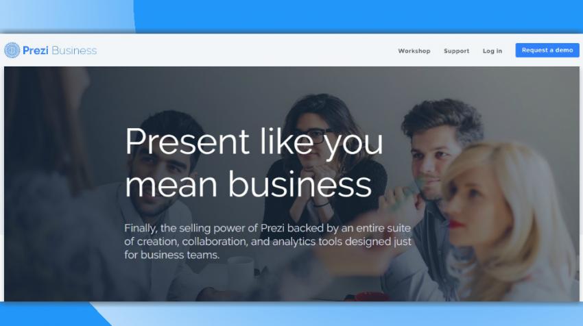 PowerPoint Alternative - Prezi Business
