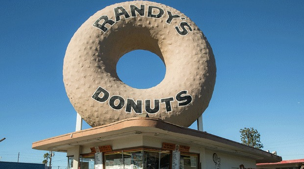 Most Unique Roadside Attraction Businesses in the U.S. - Randy's Donuts