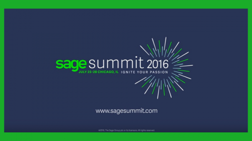 Sage Summit 2016 on Tap for July