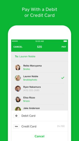 Apple iMessage Update - Square Cash