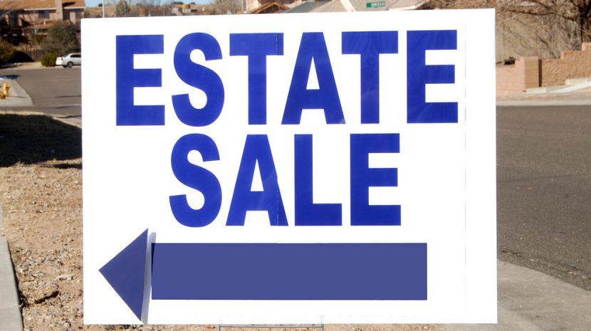 Estate sale success